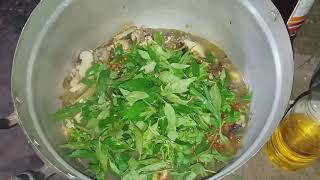 ต้มซั่วไก่สูตรเด็ด หอมๆผักแพว ซดน้ำฮ้อนๆ ตำแจ่วตับไก่ สุดคักรอบดึกทีมงานบ่าวไทบ้าน