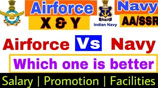 Which one is better airforce and navy//airforce vs navy//airforce aur navy me better kon hai