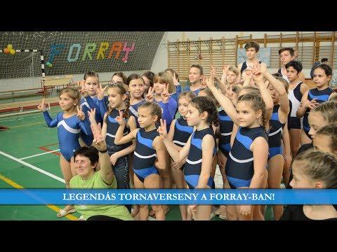 Legendás tornaverseny a Forray-ban! (2018.)