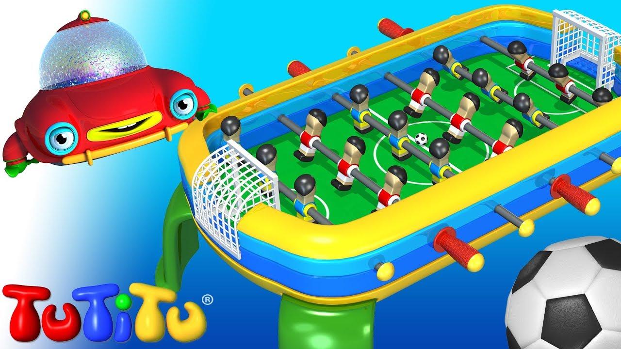 Juguetes de TuTiTu l football de mesa  YouTube