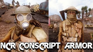 NCR Conscript armor by Dragbody - Fallout New vegas