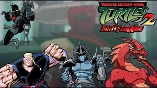 TMNT 2: Battle Nexus: ALL Boss Battles | Hard Difficulty