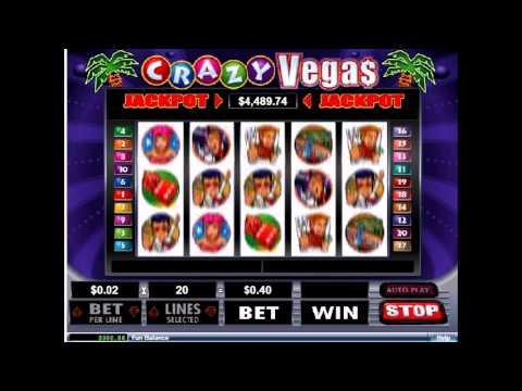 Зажигательный игровой автомат Crazy Vegas - яркий видеообзор от клуба IgrovoyZal.com