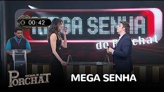 """Luciana Gimenez participa do """"Mega Senha do Porchat"""""""