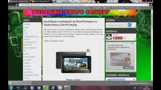 Hard Reset e instalação de Rom/Firmware no Tablet Philco (7A-P111A4.0) #UTICell