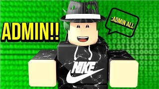 I Got ADMIN Commands In Roblox!!