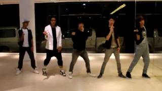"100724 ABA3O cover B1A4 ""OK"" First Dance Practice"
