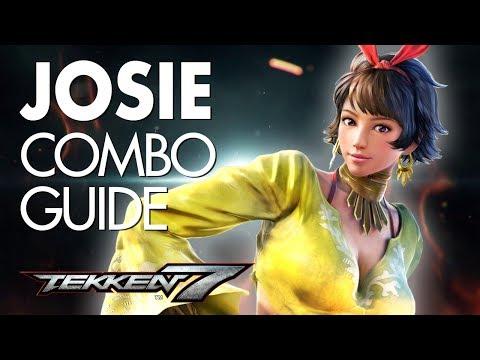JOSIE RIZAL Combo Guide   TEKKEN 7