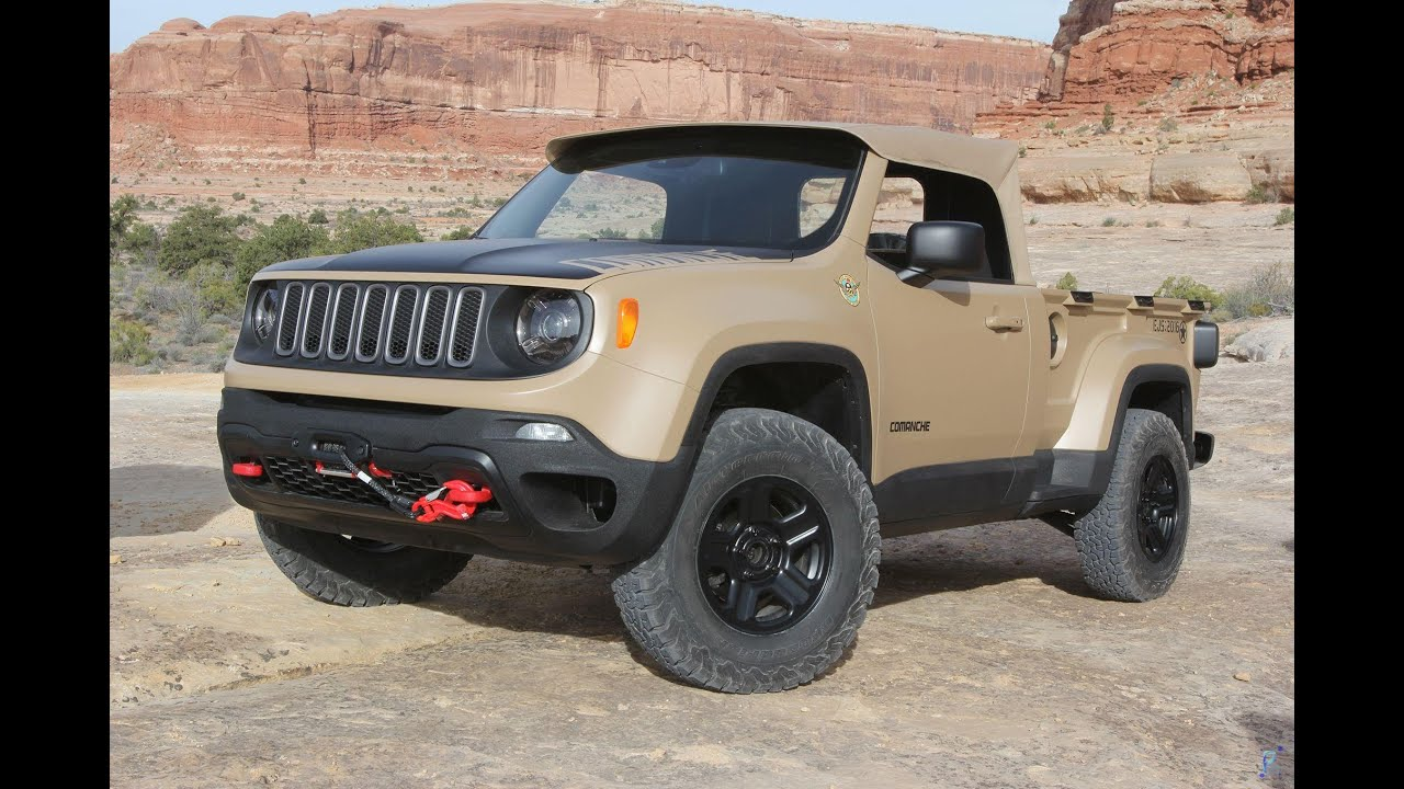 2016 Jeep Comanche >> 2016 Jeep Comanche Concept Youtube