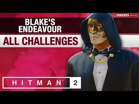 "HITMAN 2 - ""Blake's Endeavour"" Challenge Pack"