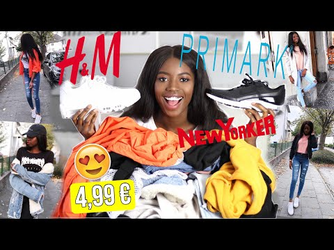 XXL Fashion Haul Try on 2017 | Sale | h&m, Primark, New Yorker | Herbst, Winter | Abigail