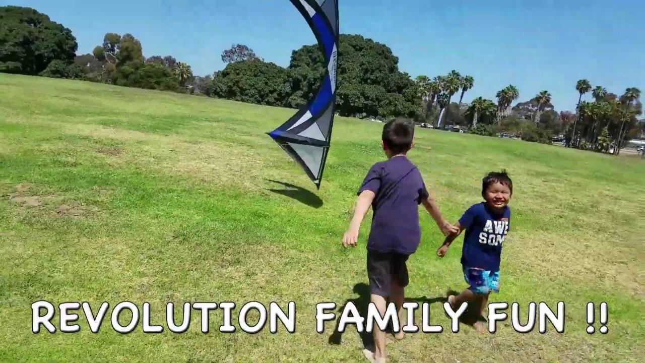 Revolution Kites the original quad line stunt kite, learn to fly in