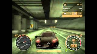 Need for speed most wanted(2005) ATI radeon mobility HD4200 gameplay