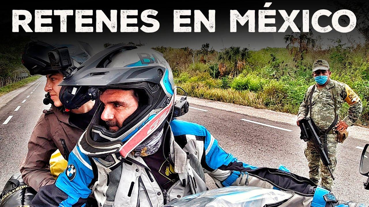 ATRAVESAMOS MÉXICO en PANDEMIA y termino con CAMBIO RADICAL EN LA MOTO (S17/E12) VUELTA AL MUNDO