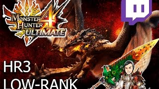 HELLO BUDDY OLD PAL!-Hammer-Rathalos-Monster Hunter 4 Ultimate 3ds