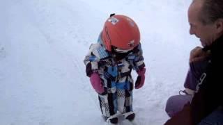 Lily loves skiing Thumbnail