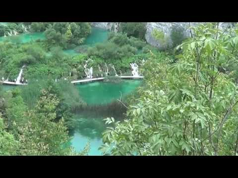 Plitvice Lakes National Park (HD) Pearl of Croatia - World Natural Heritage (with a little dog)