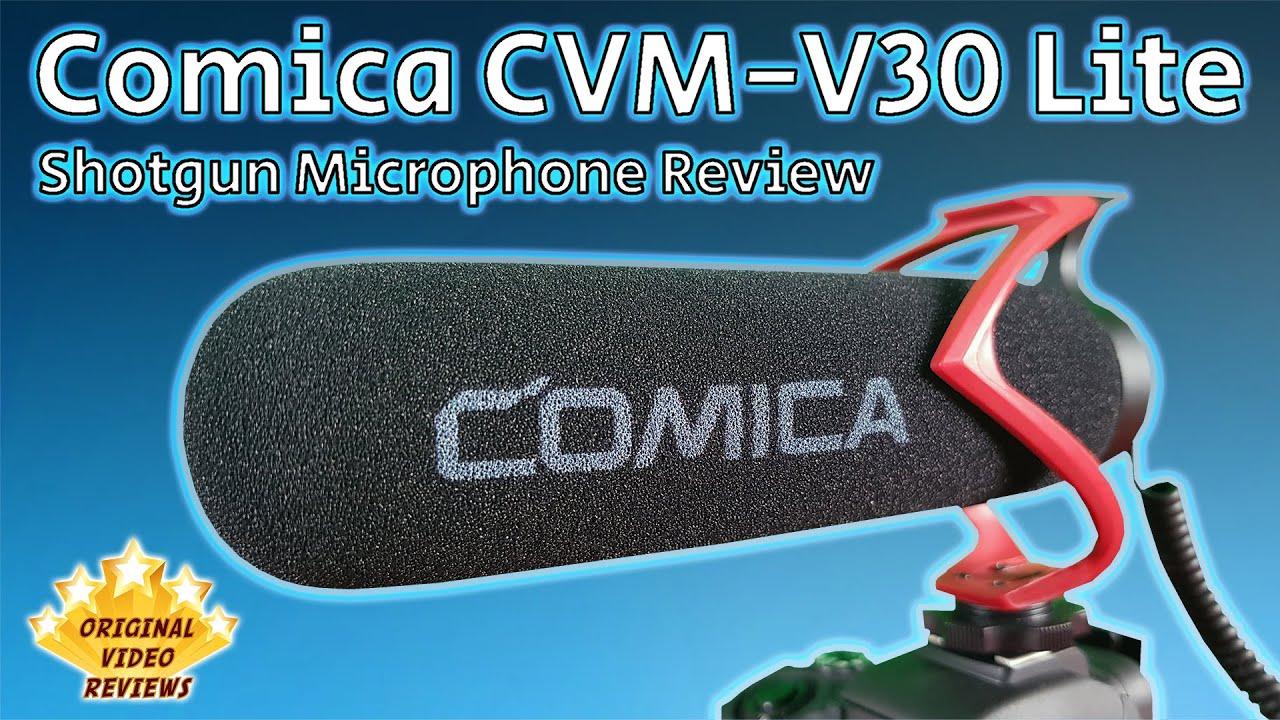 Shotgun Microphone - Comica CVM-V30 Lite Review 🎙️🎤