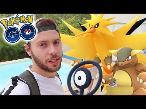 ELECTHOR, ZARBI & KANGOUREX A MARSEILLE - Vlog Pokémon Go