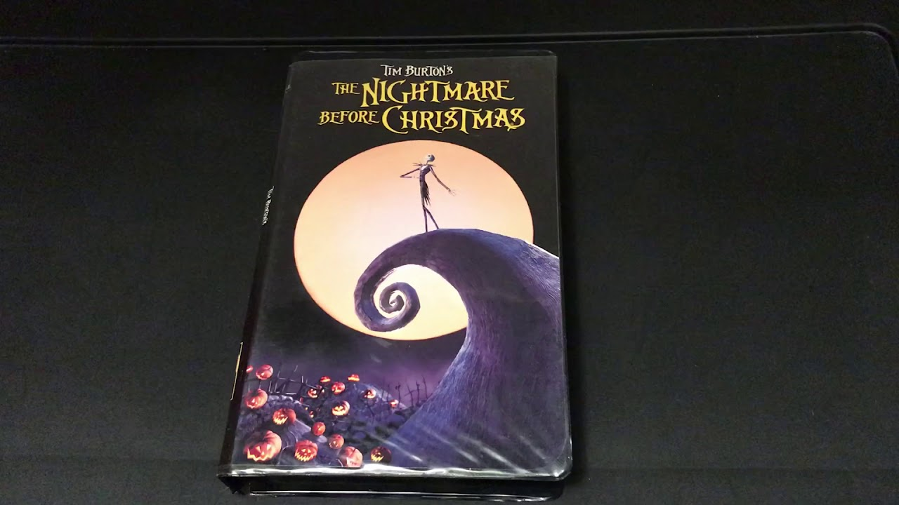 The Nightmare Before Christmas (VHS) - YouTube