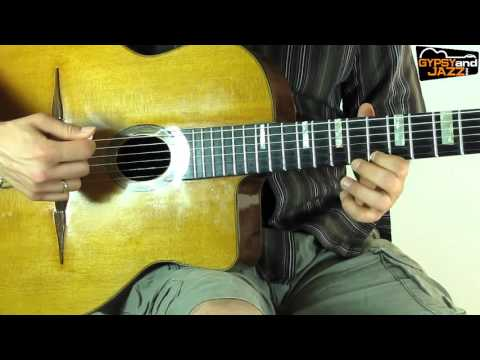 Minor Swing - Django Reinhardt Solo GYPSY JAZZ