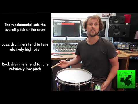 One Essential Acoustics Theory for Drum Tuning