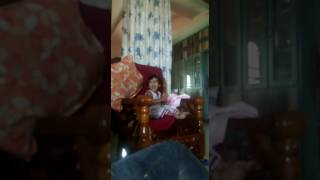 funny baby dancing nd singing of 2 years old