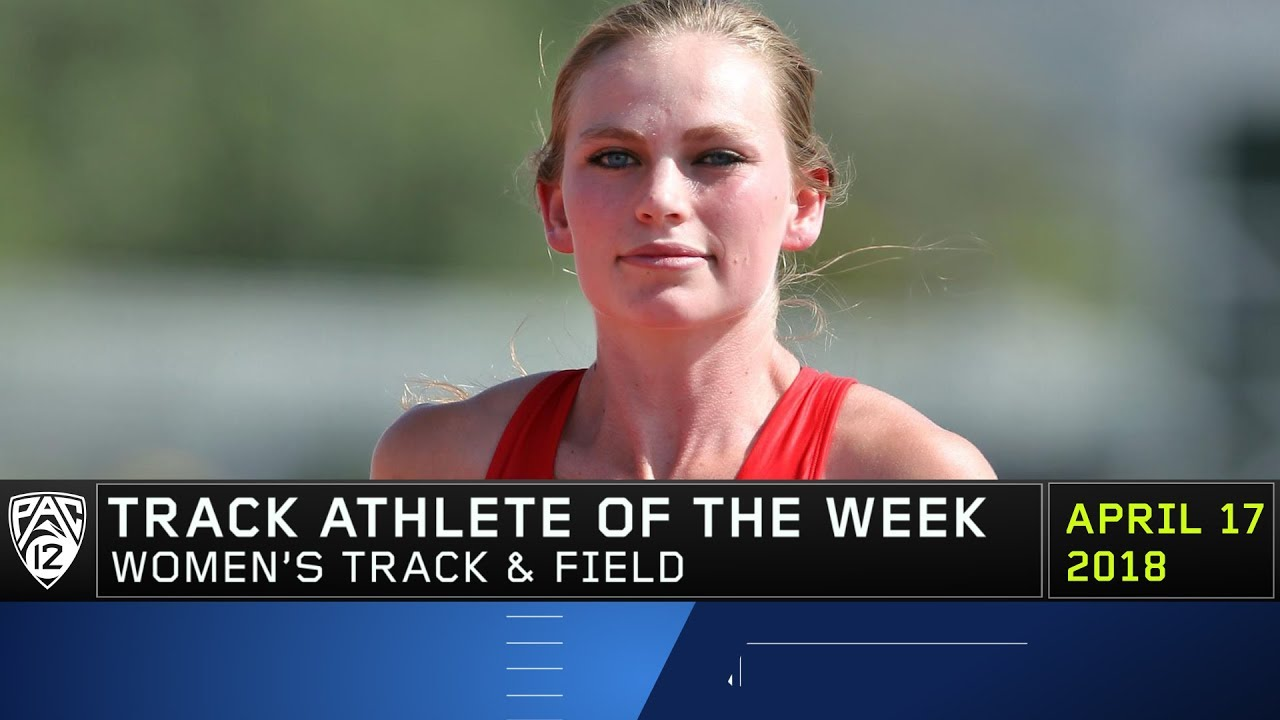 utah-s-mesa-weidle-named-pac-12-women-s-track-athlete-of-the-week