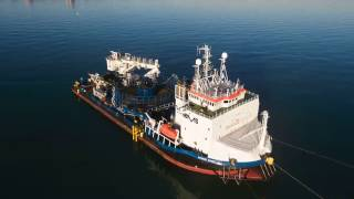 Rampion offshore wind farm | export cable installation