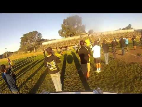 2015 Cabrillo High  Marching Band Drum cam
