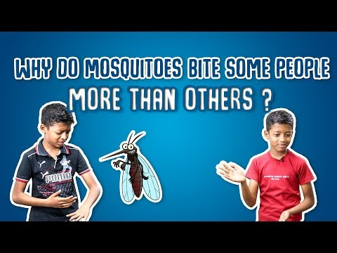 why do Mosquitoes bite some people more than others ?  | Quick Science #09