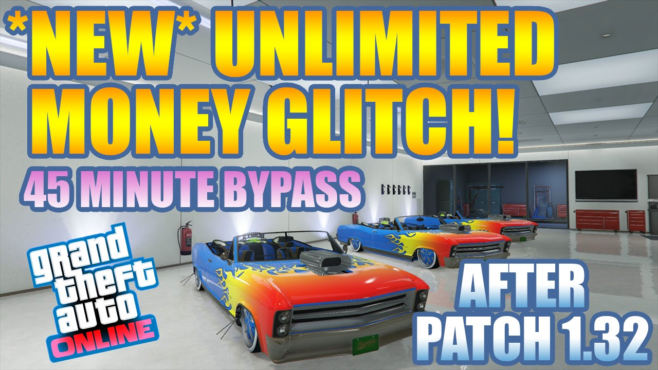 "GTA 5 Online: ""NEW"" UNLIMITED MONEY GLITCH! [1.32 ..."