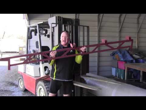 DIY Steel Porch Truss or Add-A-Room Truss