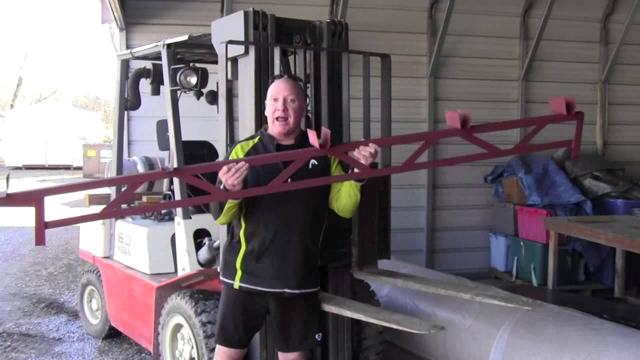 Diy Steel Porch Truss Or Add A Room Truss Youtube