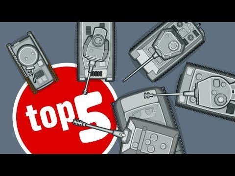 Top 5 cartoons about German Tanks | TankTricks