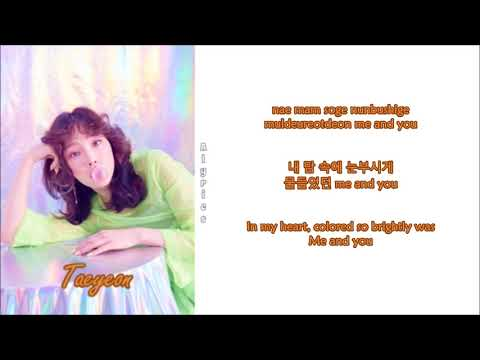 Free Download Taeyeon - Love In Color (rom-han-eng Lyrics) Mp3 dan Mp4