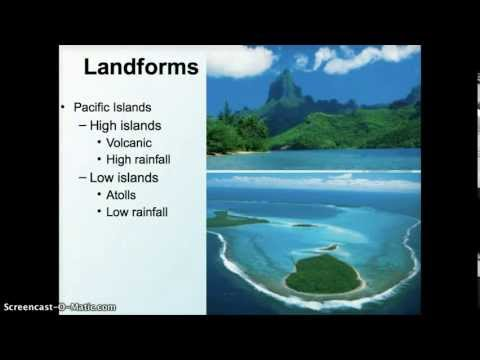 Geog 2750: Oceania Environments