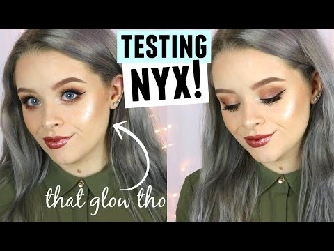 TESTING NYX MAKEUP!! | sophdoesnails