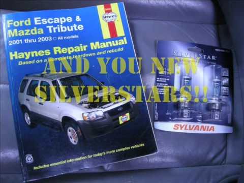 2001 mazda tribute headlight upgrade