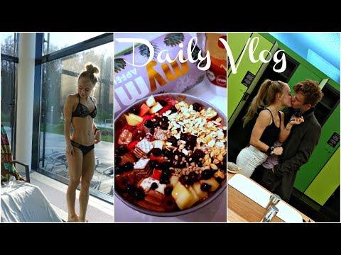 Neue Haarfarbe?! Asia Therme, Pizza, Gesunde Protein Schokolade Bowl,  | Daily Vlog