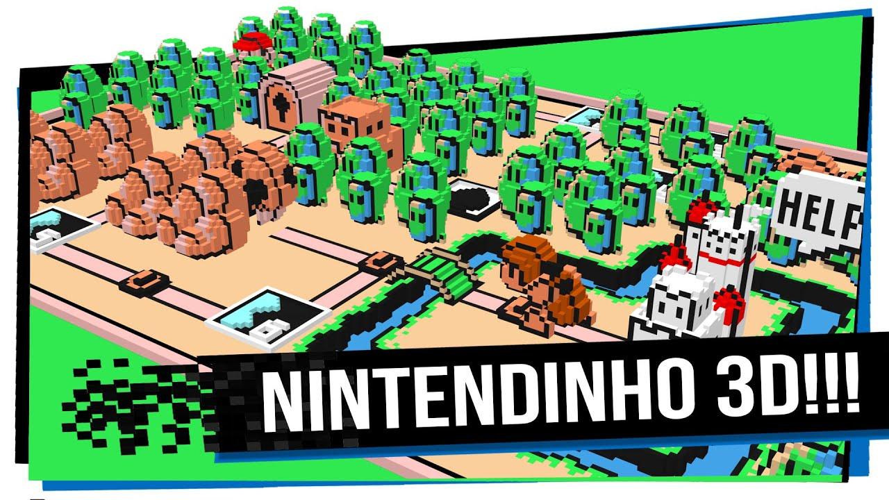 Emulador 3D do Nintendinho!!! 3DNES