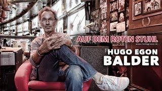 """AUF DEM ROTEN STUHL - Hugo Egon BALDER - """"Fernsehen ist dusselig"""""""