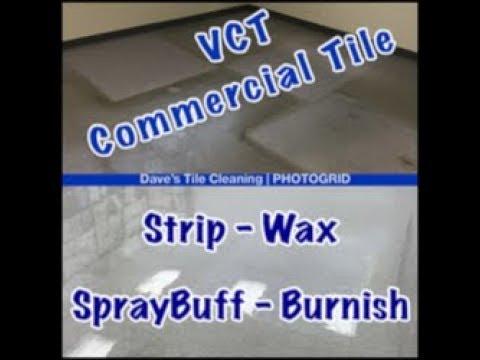 VCT Commercial Tile Options