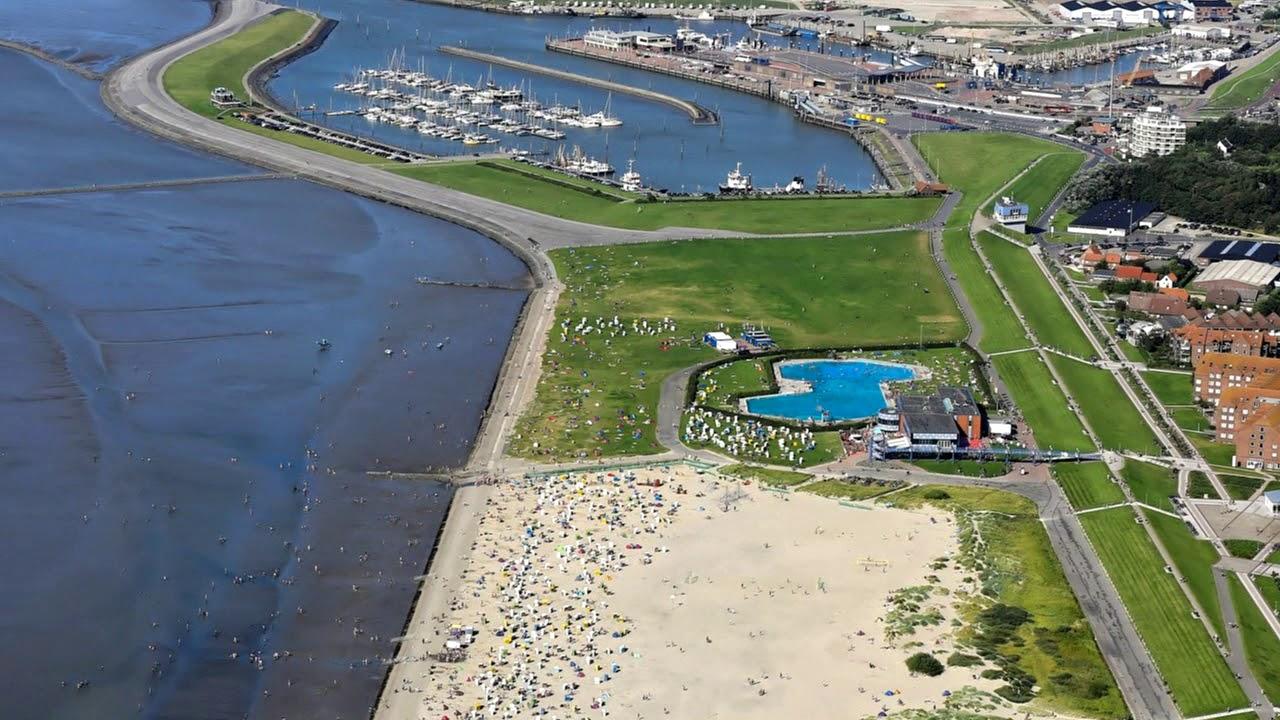 Norden: Strand Norddeich - YouTube