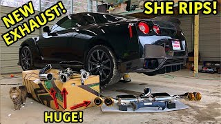 The rebuilding process is coming to an end and now it is time for some mods for this beast. The Nissan GTR is an amazing car even stock, but with some ...