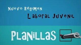 Nuevo regimen Laboral Juvenil