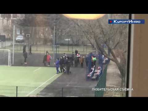 Граждан в невменяемом состоянии госпитализировали со спортивной площадки 435 школы города Сестрорецк