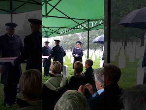 Col. Frank David Richards Funeral 8/7/2017