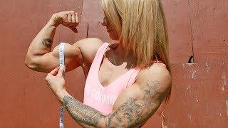 Kalli Measures Her Biceps!!!