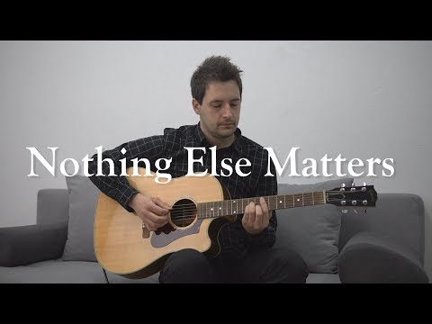 Metallica - Nothing Else Matters (Acoustic Cover) (w Solo)